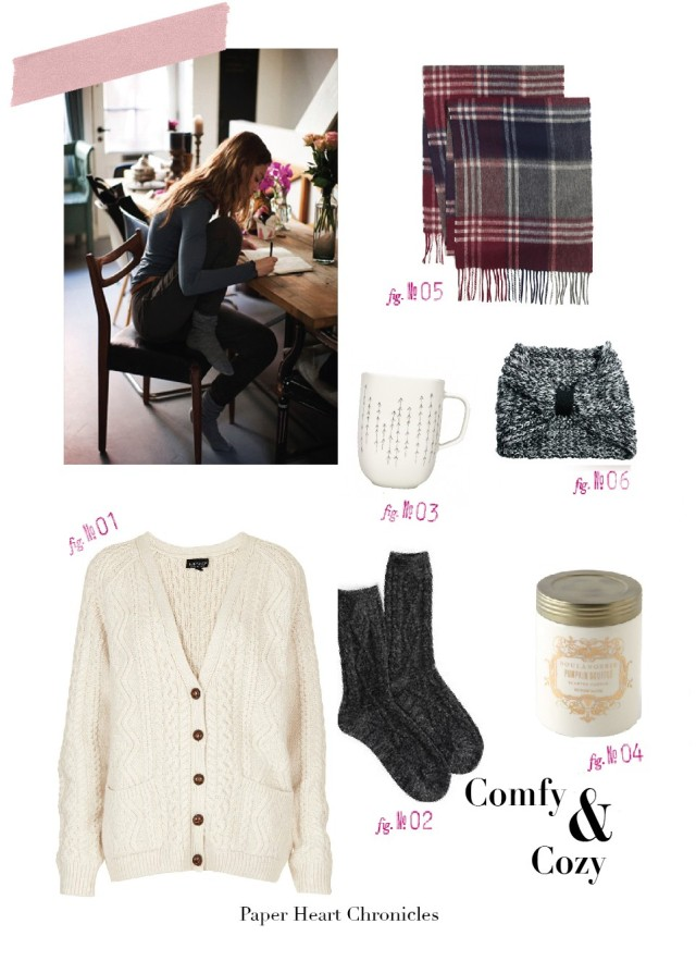 comfy cozy blog post